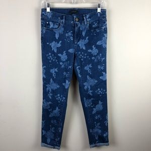 Ann Taylor women's jeans size 4 the skinny crop